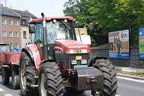 Stávka zemědělců