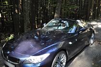Luxusní BMW. Ilustrační foto.