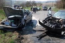 Při vážné dopravní nehodě u Plánice se zranilo šest lidí