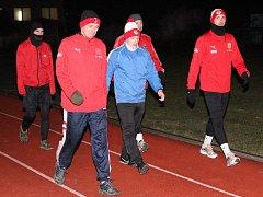 Fotbalisté SK Klatovy 1898 zahájili zimní přípravu