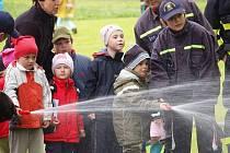 Den s hasiči a policií v Kolinci