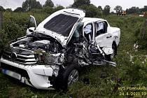 Nehoda u Zavlekova.