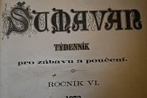 Ze starých novin, ze Šumavanu a Úhlavanu (19. století).