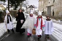 Tříkráloví koledníci v Kašperských Horách