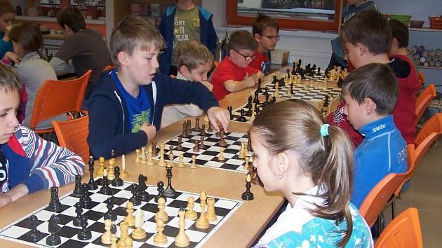 Okresní přebor žactva v šachu v Sušici.