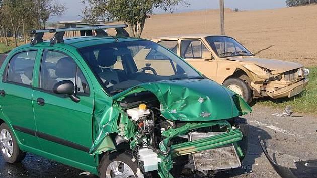 Dopravní nehoda u Kydlin