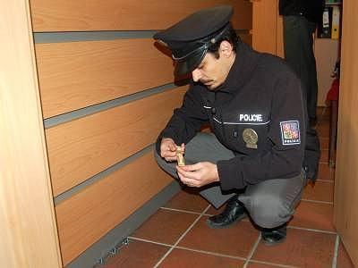 Zloděj vykradl inzertní kancelář Deníku