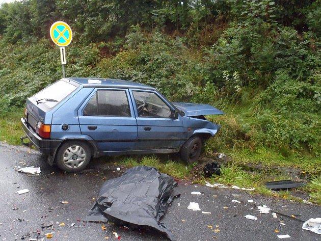 Tragická dopravní nehoda u Zelené Lhoty