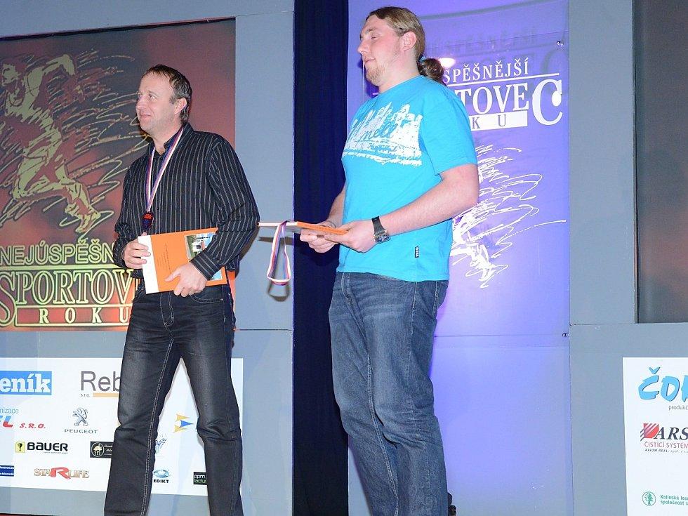 Vyhlášení ankety Nejúspěšnější sportovec roku 2013 okresu Klatovy