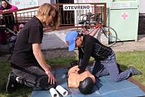 Světový den první pomoci / Den pro zdraví v Klatovech.