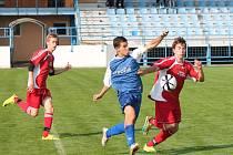 Krajský přebor staršího dorostu: Klatovy (červené dresy) - Plzeň Košutka 0:0