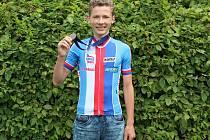 Matyáš Fiala byl třetí na ME MTB 2017 v kategorii U15