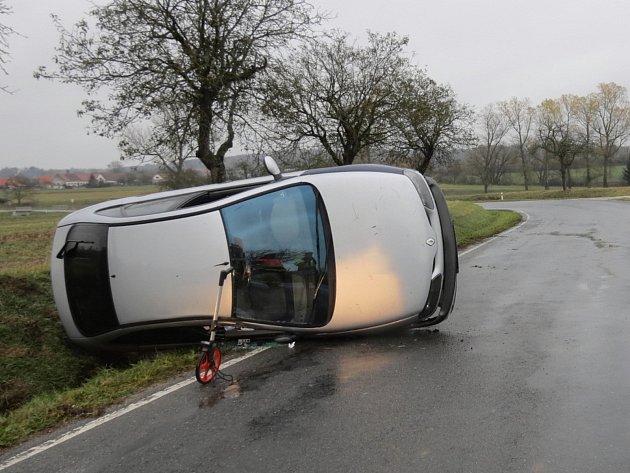 Nehoda uVelkého Boru.