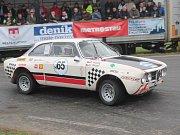 Z minulého ročníku Historic Vltava Rallye.
