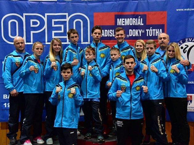 Úspěšná výprava klubu Hammer´s Gym Běhařov na Slovak Open 2016.