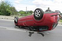 Nehoda v Lubech.