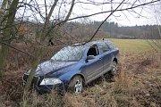 Vůz, s nímž 35letý řidič ujížděl sušickým policistům.