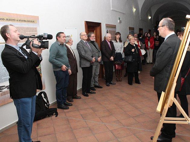 Zahájení výstav ksympoziu oPřemyslu Otakaru II.