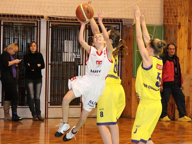 Basketbal žačky U14: Klatovy - Litoměřice