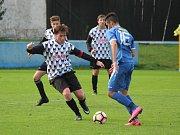 Česká divize dorostu 2017/2018: Klatovy (modré dresy) - Dobříš 4:3
