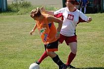 Fotbalový turnaj v Nalžovských Horách