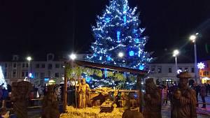 Vánoční stromy na Klatovsku 2020