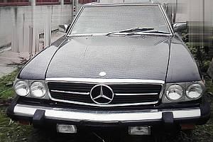 Mercedes Benz 380 SL Roadster odcizený na Železnorudsku.
