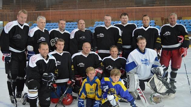 Vítězný tým SG Klatovy.