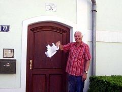 V Klatovech odhalili pamětní desku Františku Křižíkovi.