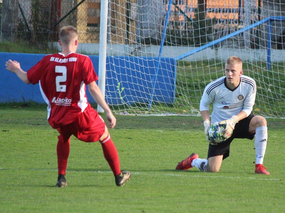 Zápas fotbalové divize SK Klatovy 1898 (červení) - SK Senco Doubravka.