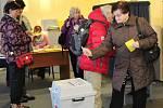 Druhé kolo prezidentských voleb na Šumavě.
