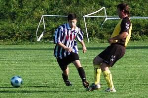 Fotbal Kašperské Hory (modrobílé dresy)  - Hartmanice