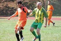 V 12. kole Kapitol ligy vyhrál Vilyž (oranžoví) team nad Nortonem Milence 4:0
