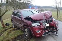 Nehoda u Horažďovic.