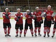 2. liga 2017/2018: Klatovy (červené dresy) - Písek 5:2