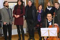 Vernisáž výstavy PF 2014 v Klatovech