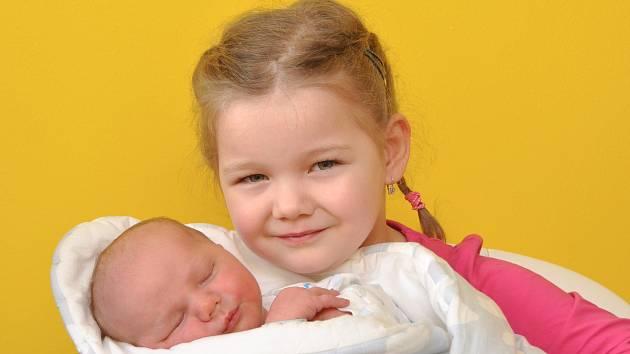 Martin Dvořák z Malého Boru se narodil ve strakonické porodnici 25. ledna v 10.52 hodin (4330 g). Ze syna mají radost rodiče Pavla a Karel i čtyřletá Terezka.
