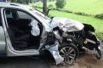 Nehoda v Hartmanicích.