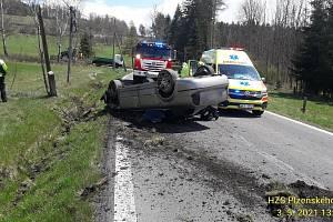 Nehoda u Píchu.