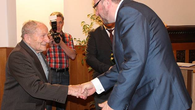 František Wiendl oslavil 95 let.