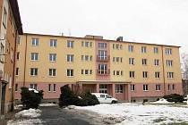 Bývalá armádní ubytovna v Klatovech.