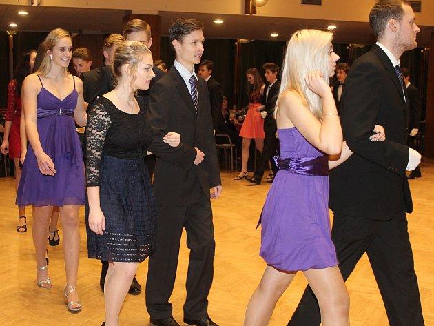 Zahájení tanečních v Klatovech 2017.