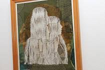 Výstava paličkované krajky v Nýrsku