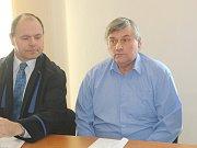 Vladislav Vaňourek u klatovského soudu.