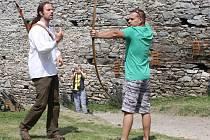 Výcvik lukostřelby na Kašperku
