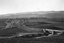 Stavba prvního klatovského nádraží