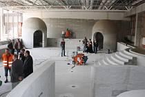 Rekonstrukce krytého bazénu v Klatovech.