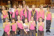 Taneční skupina Dance Stars vybojovala dva zlaté poháry.