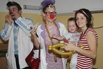 Zdravotní klauni v Klatovské nemocnici.