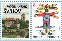 Hrad Švihov má novou známku